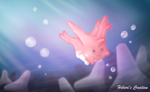 Corsola (Pokemon) by Hikari-Creation