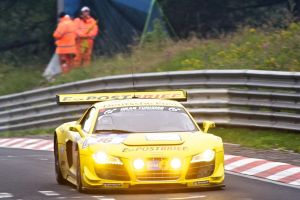 audi r8 at Nordschleife by graynd