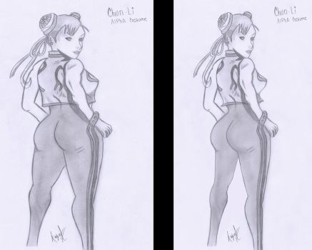 Chun li Alpha Suit - Better or worse ? by Corn102903