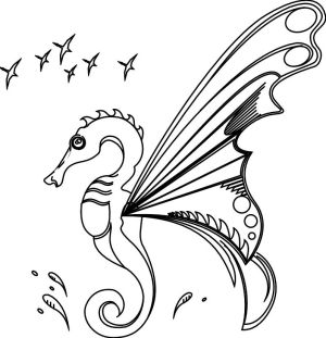 Sea Horse Butterfly by Virtual-SG