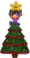 Secret Santa - +I'm the star+ by Kiki-Myaki