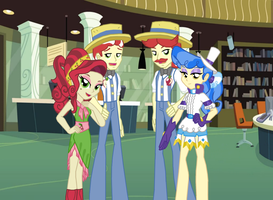 Equestria Girls: Cider Shippings by 3D4D