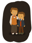 Hershel and Theodore Bronev by Elo-Doudoune