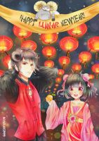 Lunar New Year by moonblade1999
