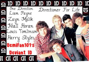 NEW One Direction Deviant ID by DemiFan101