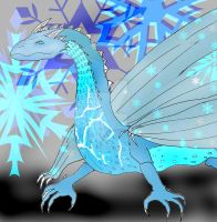 Elsa the dragon by Selinelle