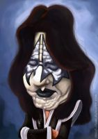 Ace Frehley - The Spaceace by PauloStanley