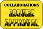 Approval Collaborations Badge by LevelInfinitum