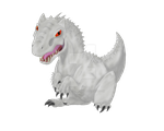 cute Indominus Rex by wildspirit-celina