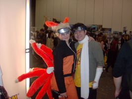 Nine Tailed Fox +Choji Cosplay by hinn888
