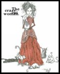 The Crazy Cat Woman. by DecadentDementia