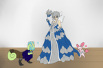 Getting ready for the Gala by SkullCollectorCubone