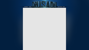 Youtube Layout - Crusader by 1337thriller