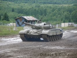 BAHNA 2011 T-72 by Dukecz