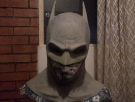 Batman cowl sculpt 80 by Kryptoniano