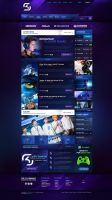SK Gaming eSport Template by BorisWick
