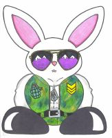 Sargent Hoppy by bluewriter