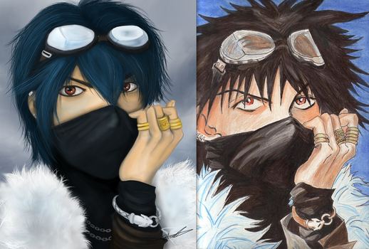 Cold Wind Before and After by Tichael