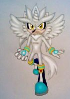 Silver the Alicorn-hog by GothNebula