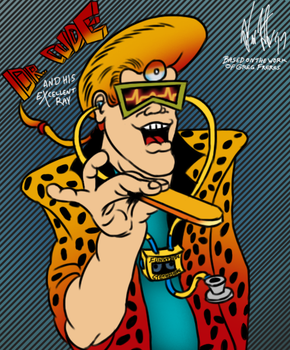 Dr. Dude (digitally illustrated version) by T-Newton