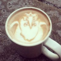 Ice King latte by CappuccinoFrosting