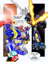 Voltes V demolished Voltron by bdy
