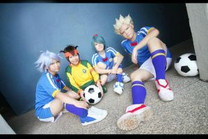 Inazuma Eleven: Have A Rest by w4n1n0k0