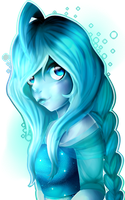 Shade of blue by Cristal-Tears