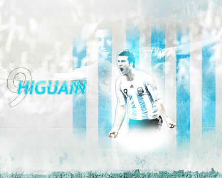 Higuain by Supermassive777