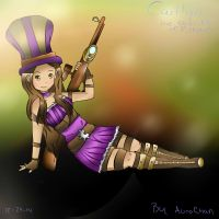 [League of Legends] Caitlyn (Anime) by aurorastar21