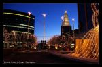 Christmas Skyline by average-jeau