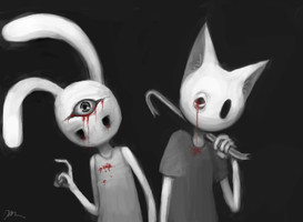 Rooby and Tom by three3P