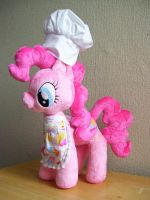 Chef Pinkie Pie Plushie by Pinkamoone