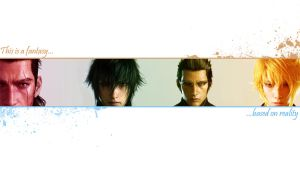 Final Fantasy XV wallpaper by softlady