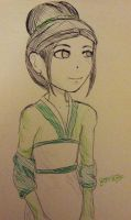 Kickstarter Commission: Toph 2 by FaithWalkers