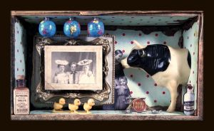 Mixed Media Assemblage 74 A80 by GregPDX