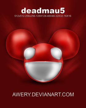 Deadmau5 icon by Awery