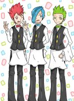 Cilan, Cress, and Chili by mintgold-sky