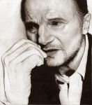 Never to be finished Liam Neeson (super old) by NoxEvo