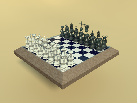 Chessboard by qwerytiop