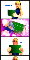 MMDKH ~ Ai's Reaction 2 ~ Comic by XxChocolatexHeartsxX