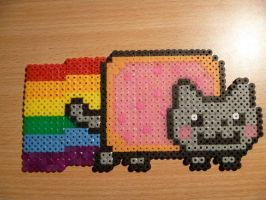 Nyan-Cat by DisasterExe