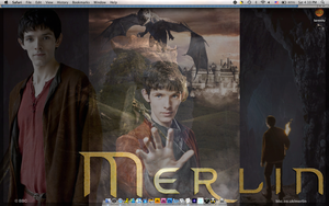 Merlin Wallpaper Merge by PirateFairy