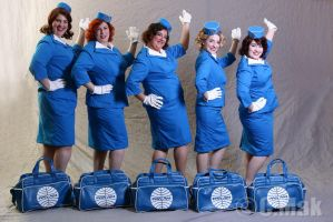 PanAm Stewardress - This is for the Time Magazine by CatsLuna