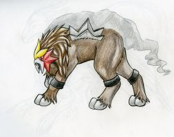 Entei by MagicallyCapricious