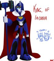 King of Iaconia by PurrV