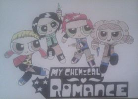 My Chemical Romance Power Puff Form by LaurenSparkles