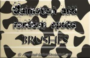 Dalmatian spots brushes by Angi-Shy