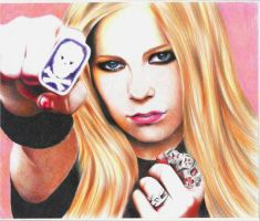 Avril Lavigne by MaPaMe