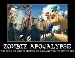 Zombie Apocalypse Demotivational by Anti-Riku1
